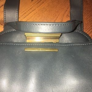 Zac Posen Trapeze Bag in dark olive